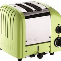 Dualit 2 Slice Classic Toaster, Lime Green