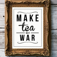 Retro Art Print &#x27;Tea&#x27; by RockTheCustardPrints