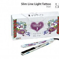 Amazon.com: Royale Premium White Tattoo Ceramic Flat Iron / Hair Straightener .: Beauty