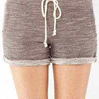 In and Out Shorts in Charcoal :: tobi