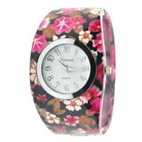 Flower Print Watch — accessoryinlove
