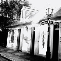 Jean Lafitte's Blacksmith Shop New Orleans French by Briole