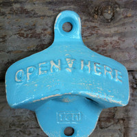 Rustic Retro Cast Iron Soda Pop Bottle Opener by AlacartCreations