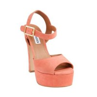 Dynemite - Suede Platform Sandals by Steve Madden