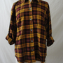 Vintage 80's urban plaid shirt top blouse WHOLESALE