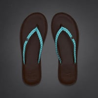 So Cal Color Flip Flops