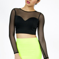 So Long Sweetheart Crop Top $23