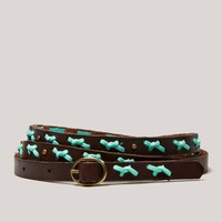 AEO Laced Leather Belt | American Eagle Outfitters