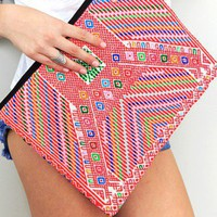 Precious Hands - Huipil Laptop Case