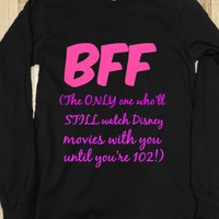 BFF - The Only One Who'll Watch those Princess Movies with You - Connected Universe