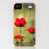 Wild Anemones iPhone Case by Around the Island (Robin Epstein) | Society6