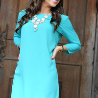 Where Have You Been Dress: Bright Jade | Hope's