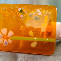 Tangerine Flower Night Light