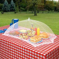 Giant Outdoor Tabletop Food Cover: Patio, Lawn & Garden