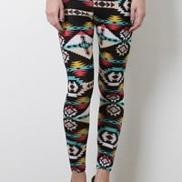 Neo Poly Tribal Leggings