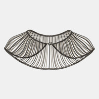 Topshop Chain Drape Collar Necklace | Nordstrom