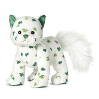Webkinz Clover Cat - St. Patrick's Day Seasonal Release