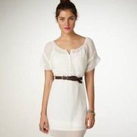 AE Flutter Sleeve Dress