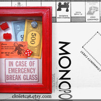 Monopoly Emergency Kit  In case of Emergency  by ClosetCat on Etsy