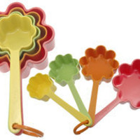 Flower Shaped Measuring Cups