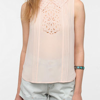 Pins And Needles Eyelet Collar Blouse