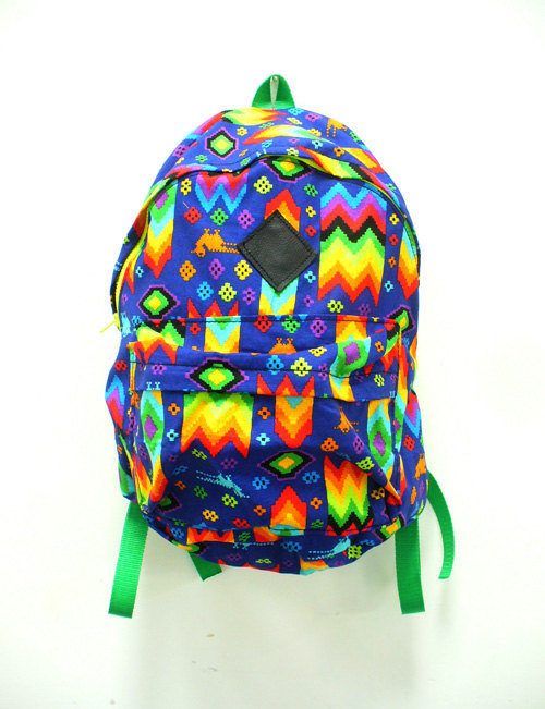 Aztec Rainbow Backpack by Blim on Etsy