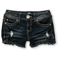 Almost Famous Lizette Indigo Cut Off Shorts