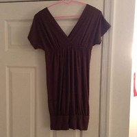 Brown Macy&#x27;s Dress Size Small Brand New