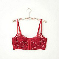 Free People  Clothing Boutique &gt; Printed Hook and Eye Bra