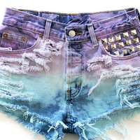Custom Jean shorts