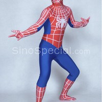 Free shipping:Full Body Lycra Spandex Spiderman Zentai Suit-sinospecial.com
