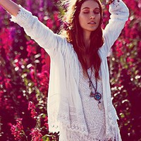 Free People Womens FP ONE Softly Woven Jacket -