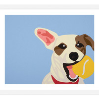 One Kings Lane - Artist on Exhibit: Rankin Willard - Rankin Willard, Jack Russell