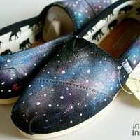 Galaxy Toms or Vans Keds etc by InfiniteInspiration on Etsy