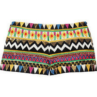 Sass & bide|Coming Back embroidered silk-blend shorts|NET-A-PORTER.COM