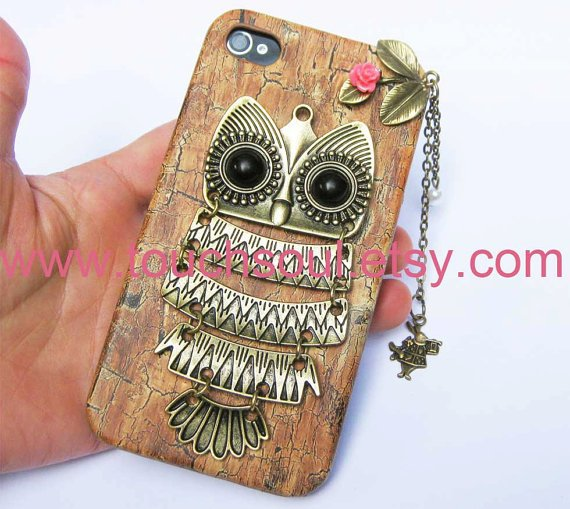owlalice rabbitIphone Case iPhone 4 Case iphone 4 by touchsoul