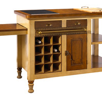 One Kings Lane - A Sophisticated Mix - Victor Kitchen Island