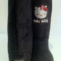 UGG Boots Featuring Swarovski Crystals Hello Kitty
