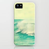 The force of the waves iPhone Case by Guido Montas