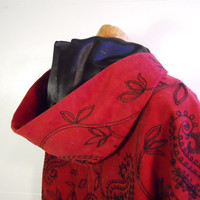 Little Red Riding Hood Victorian Cape by JeanineDesigns on Etsy