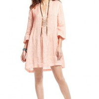 Regina Hand Dyed Linen Shirt Dress  | Calypso St. Barth