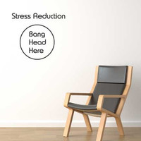 Stress reduction funny novelty office wall sticker decal design idea