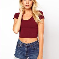 ASOS 90's Crop Top at asos.com