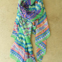 Mineral Creek Scarf [3793] - $21.00 : Vintage Inspired Clothing & Affordable Fall Frocks, deloom | Modern. Vintage. Crafted.