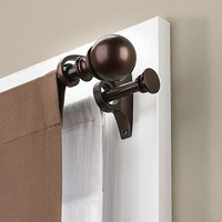 Umbra Window Hardware, Umbra Diverge Double Curtain Rods - Bed in a Bag - Bed & Bath - Macy's