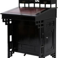 One Kings Lane - Frederick P. Victoria &amp; Son - Ebonized Writing Desk, C. 1885