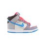 Womens Nike Dunk Hi 6.0 Athletic Shoe, WhiteGreyBlue  Journeys Shoes