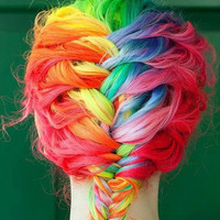 Premium Salon Grade Colored Hair Chalk  by liltutuprincess on Etsy