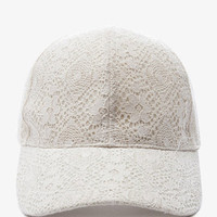 Crocheted Baseball Cap