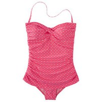 Clean Water Women's Polka Dot 1-Piece Swim Dress -Assorted Colors